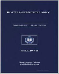 Have We Failed with the Indian? by Dawes, H. L.