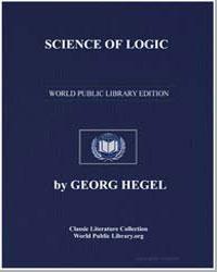 Science of Logic by Hegel, Georg