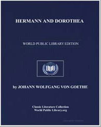 Hermann and Dorothea by Von Goethe, Johann Wolfgang