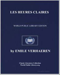 Les Heures Claires by Verhaeren, Emile