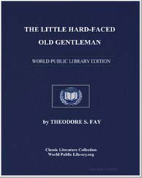 The Little Hard-Faced Old Gentleman by Fay, Theodore Sedgwick