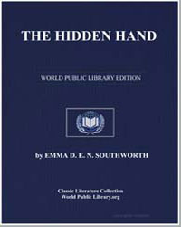 The Hidden Hand by Southworth, Emma Dorothy Eliza Nevitte