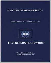 A Victim of Higher Space by Blackwood, Algernon Henry