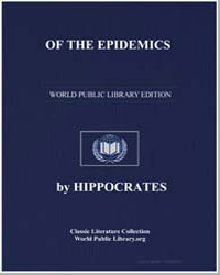 Of the Epidemics by Adams, Francis