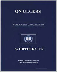 On Ulcers by Adams, Francis