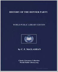 History of the Donner Party by Mcglashan, Charles Fayette