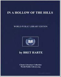 In a Hollow of the Hills by Harte, Brett