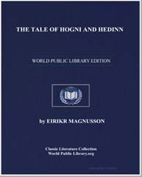 The Tale of Hogni and Hedinn by Magnusson, Eirikr
