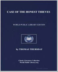Case of the Honest Thieves by Thursday, Thomas