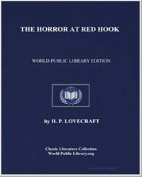 The Horror at Red Hook by Lovecraft, H. P.
