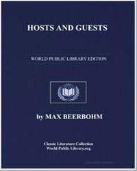Hosts and Guests by Beerbohm, Max