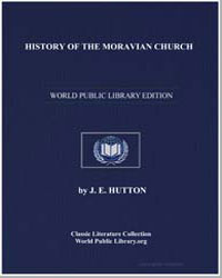 History of the Moravian Church by Hutton, Joseph Edmund