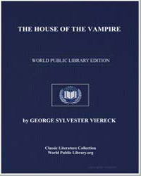 The House of the Vampire by Viereck, George Sylvester
