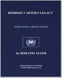 Herbert Carter's Legacy by Alger, Horatio
