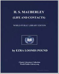 H. S. Mauberley (Life and Contacts) by Pound, Ezra Loomis
