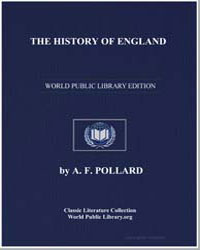 The History of England by Pollard, A. F.