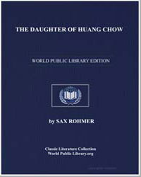 The Daughter of Huang Chow by Rohmer, Sax