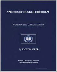 Apropos of Hunker Chisholm by Speer, Victor