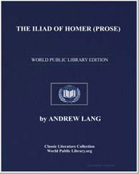The Iliad of Homer by Lang, Andrew, M. A.
