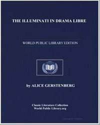 The Illuminati in Drama Libre by Gerstenberg, Alice