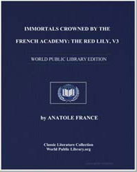 Immortals Crowned by the French Academy ... by France, Anatole