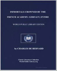 Immortals Crowned by the French Academy ... by De Bernard, Charles