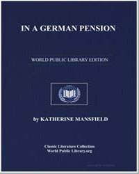 In a German Pension by Mansfield, Katherine