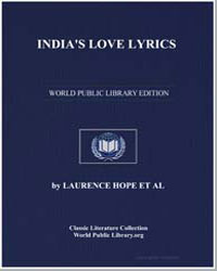 India's Love Lyrics by Hope, Lawrence