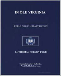 In Ole Virginia; Or, Marse Chan and Othe... by Page, Thomas Nelson