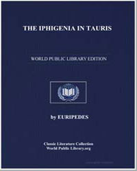 The Iphigenia in Tauris of Euripides by Coleridge, E. P.