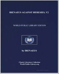 Irenaeus against Heresies, V3 by