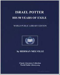 Israel Potter : His 50 Years of Exile by Melville, Herman