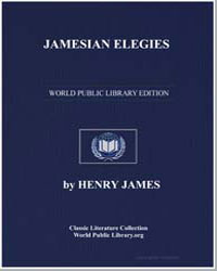 A Cycle of Plays : Jamesian Elegies by James, Henry