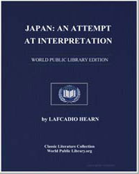 Japan : An Attempt at Interpretation by Hearn, Lafcadio