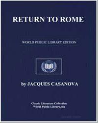 Return to Rome by Casanova, Jacques