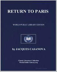 Return to Paris by Casanova, Jacques