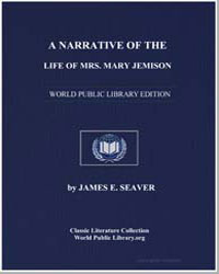 A Narrative of the Life of Mrs. Mary Jem... by Seaver, James E.