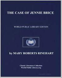 The Case of Jennie Brice by Rinehart, Mary Roberts