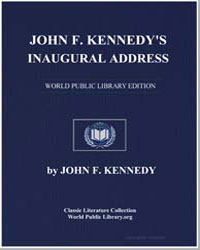 Jfk's Inaugural Address by