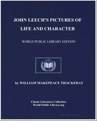 John Leech's Pictures of Life and Charac... by Thackeray, William Makepeace