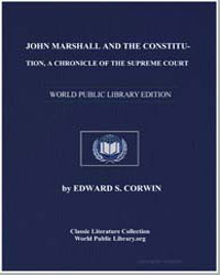John Marshall and the Constitution : A C... by Corwin, Edward S.