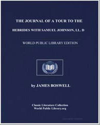 The Journal of a Tour to the Hebrides, W... by Ingram, Jonathan