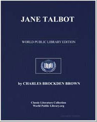 Jane Talbot by Brown, Charles Brockden