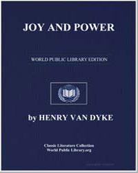 Joy and Power by Van Dyke, Henry