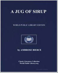 A Jug of Sirup by Bierce, Ambrose