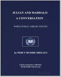 Julian and Maddalo : A Conversation by Shelley, Percy Byssche