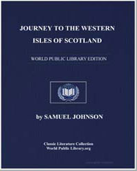 Journey to the Western Isles of Scotland by Johnson, Samuel