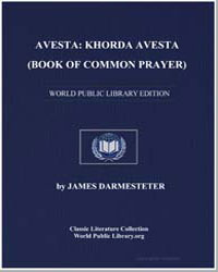 Avesta : Khorda Avesta (Book of Common P... by Darmesteter, James