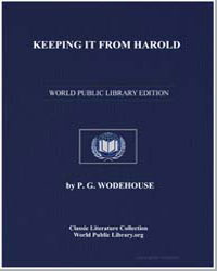Keeping It from Harold by Wodehouse, Pelham Grenville