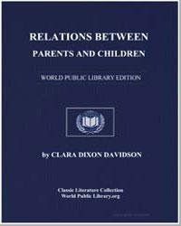 Relations between Parents and Children by Davidson, Clara Dixon